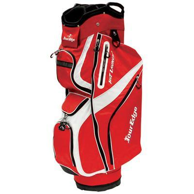 Hot Launch 2 Cart Bag Red Wht