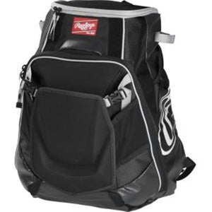 Baseball 2 Bat Velo Backpk Blk