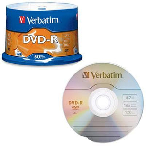 Dvd R 4.7gb 16x 50 Pack
