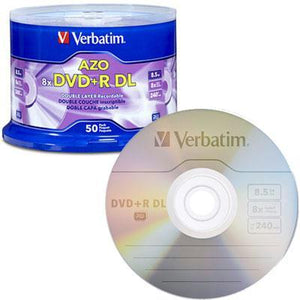 Dvd+r Dl 8.5gb 8x 50 Pk Spindl