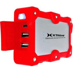 7800mah Rugged Bttry Bank Red