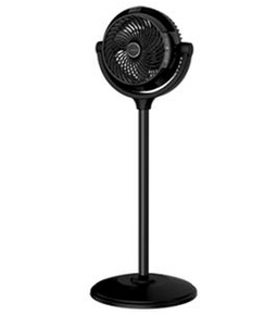 "Lasko 34"" Compact Power Pedestal Fan with Remote Control"