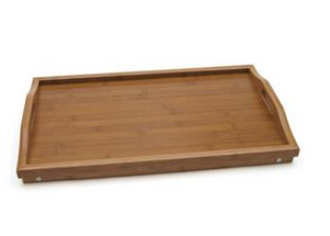 Lipper Bamboo Bed Tray with Folding Legs
