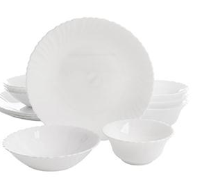 O Radley Tempered Dinnerware Set 12pc