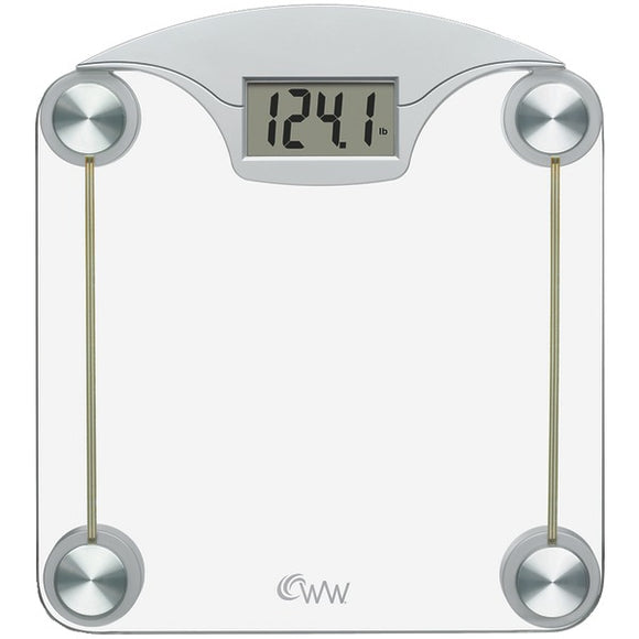 Conair(R) WW39Y Weight Watchers(R) Digital Glass & Chrome Scale