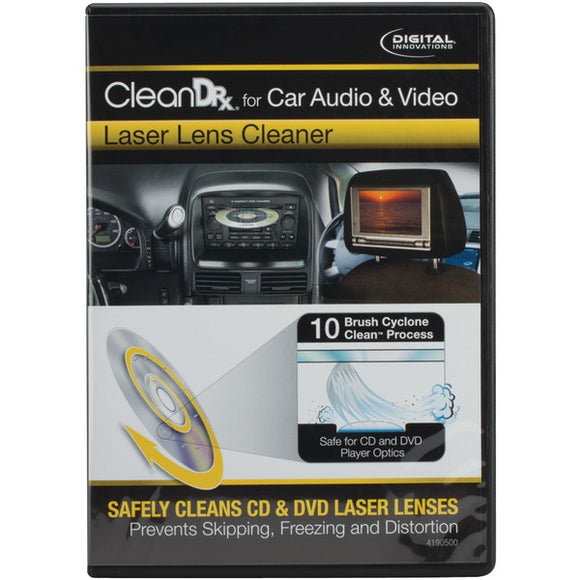 Digital Innovations 41905 CleanDr(R) Car A-V Laser Lens Cleaner