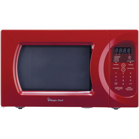 Magic Chef(R) MCD992R .9 Cubic-ft, 900-Watt Microwave with Digital Touch