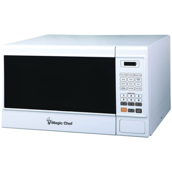 Magic Chef(R) MCM1310W 1.3-Cubic-ft Countertop Microwave (White)