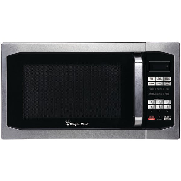 Magic Chef(R) MCM1611ST 1.6 Cubic-ft Countertop Microwave (Stainless Steel)