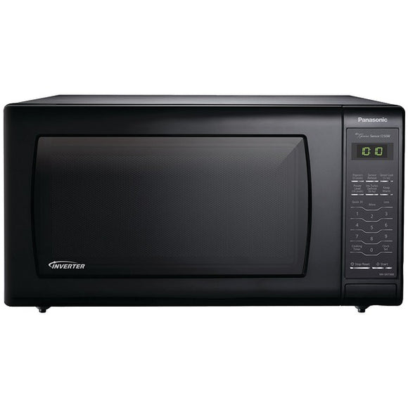 Panasonic(R) NN-SN736B 1.6 Cubic-ft, 1,250-Watt Microwave (Black)