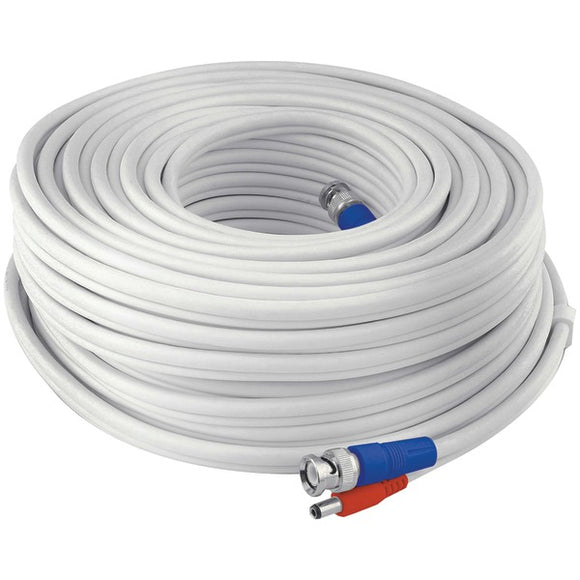 Swann SWPRO-30MTVF-GL Fire-Rated BNC Video-Power Extension Cable, 100ft