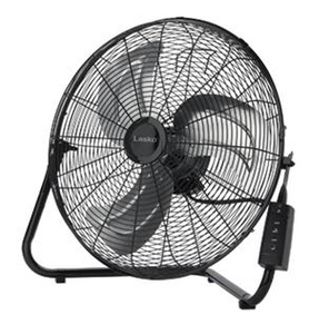 "Lasko 20"" Remote Control High Velocity Floor / Wallmount Fan"