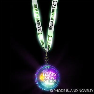 "32.5"" LIGHT-UP HAPPY NEW YEAR LANYARD"