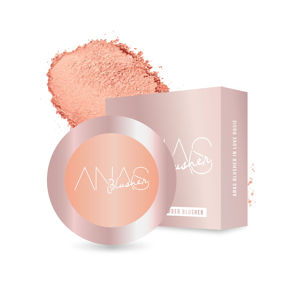ANAS Pressed Powder Blusher in Peach Please
