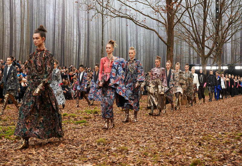 Chanel In the Woods Fall Winter 2018