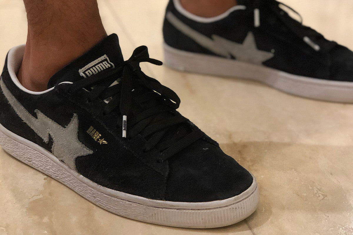 These Unreleased BAPE x PUMA Suede Classics Need to Happen