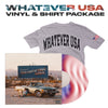 """Whatever USA"" (Autographed Vinyl) & ""Whatever USA"" Tee + Digital Download"
