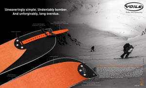 Voile Splitboard Skins with Tail Clips