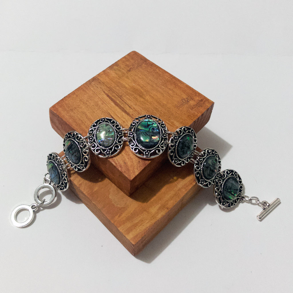 Colorful Abalone shell bracelet