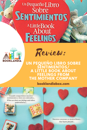 Review: New Bilingual Book, Un Pequeño libro sobre sentimentos