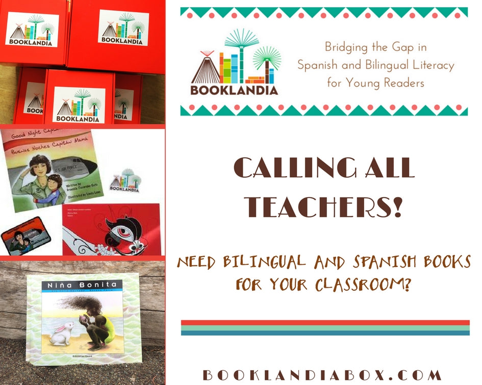 Teacher Program to earn free Bilingual and Spanish children's books.