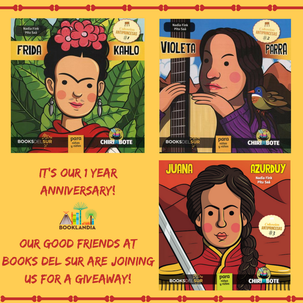 #1: Celebrate Booklandia's 1st Year Anniversary with a Giveaway!