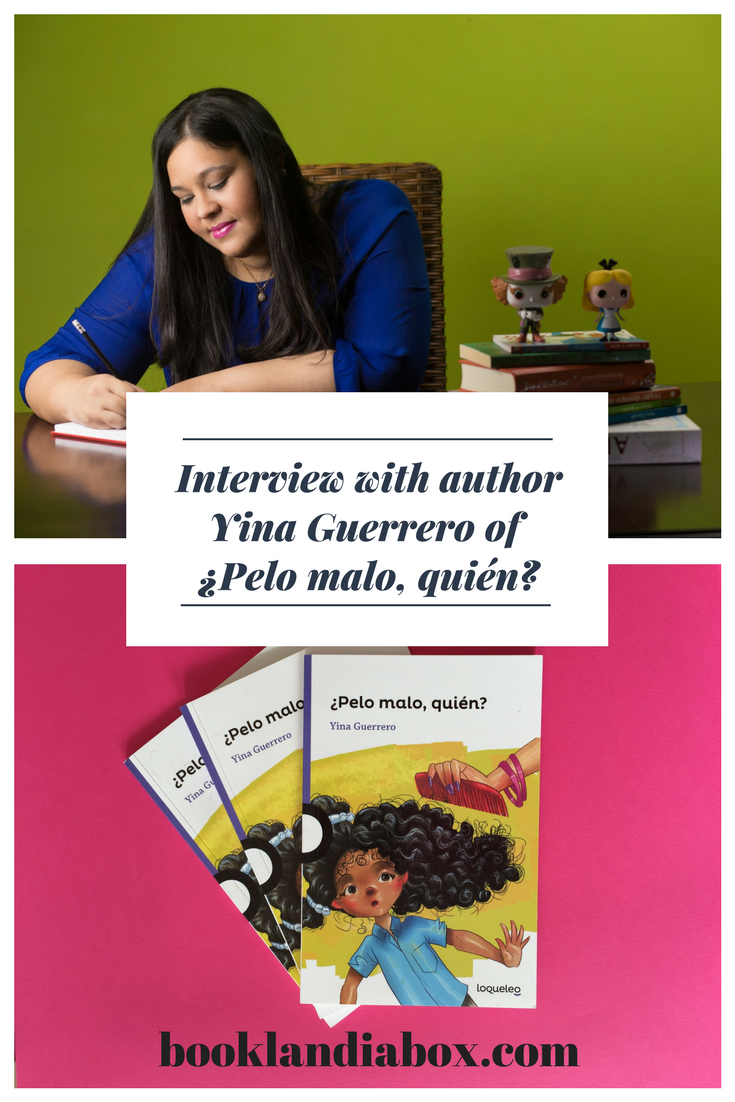 ¿Pelo malo, quién?: An Interview with writer Yina Guerrero
