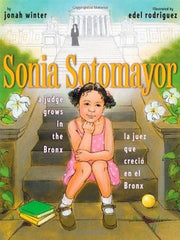 Sonia Sotomayor Bilingual Book for kids