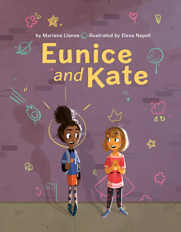 Book Cover of Eunice and Kate by Mariana Llanos