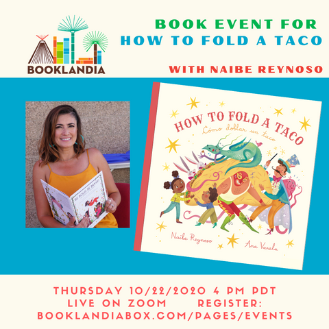 Book Event for How To Fold a Taco with Naibe Reynoso
