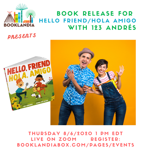 123 Andres Book Launch