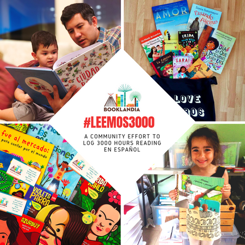#LEEMOS3000 READING CHALLENGE ENGLISH