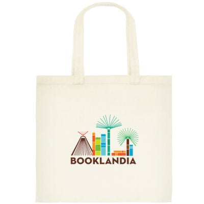 Small Booklandia tote bag