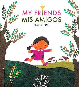 My Friends/Mis amigos-Booklandia-bilingual-spanish-childrens-books