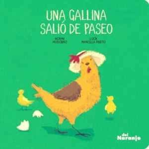 Una Gallina Salió de Paseo-Booklandia-bilingual-spanish-childrens-books