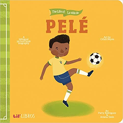 Life of Pelé/La Vida de Pelé-Booklandia-bilingual-spanish-childrens-books