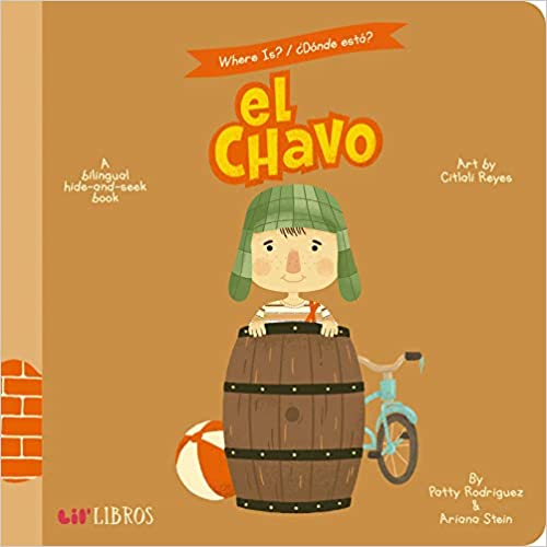 Where Is?/Donde Esta? el Chavo: A Bilingual Hide-And-Seek Book-Booklandia-bilingual-spanish-childrens-books