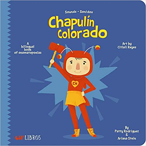 El Chapulin Colorado: Sounds/Sonidos-Booklandia-bilingual-spanish-childrens-books