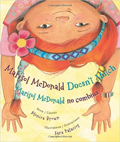 Marisol McDonald Doesn't Match: Marisol McDonald No Combina ( Marisol McDonald )-Booklandia-bilingual-spanish-childrens-books