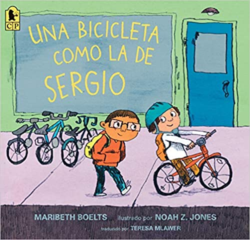 Una bicicleta como la de Sergio-Booklandia-bilingual-spanish-childrens-books