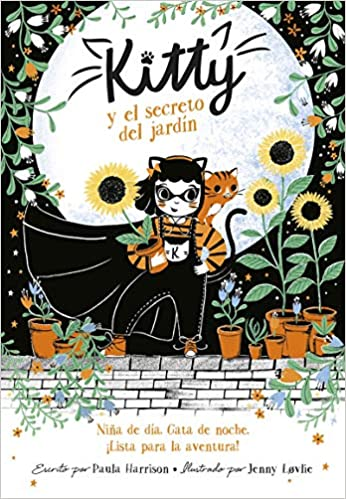 Kitty Y El Secreto del Jardín ( Kitty #3 )-Booklandia-bilingual-spanish-childrens-books