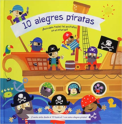10 Alegres Piratas-Booklandia-bilingual-spanish-childrens-books
