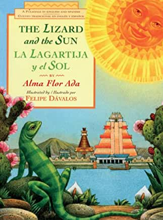 The Lizard and the Sun / La Lagartija y El Sol: A Folktale in English and Spanish-Booklandia-bilingual-spanish-childrens-books