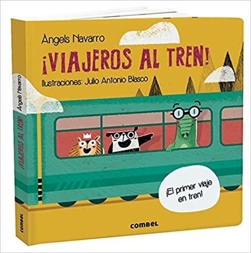¡Viajeros Al Tren!-Booklandia-bilingual-spanish-childrens-books