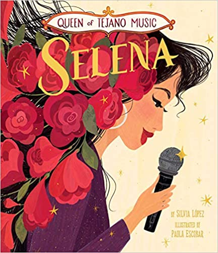 Queen of Tejano Music: Selena-Booklandia-bilingual-spanish-childrens-books
