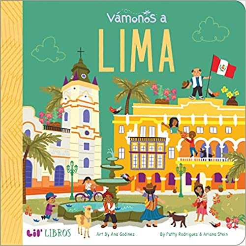 Vámonos: Lima-Booklandia-bilingual-spanish-childrens-books