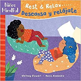 Pananiños Mindful: Rest & Relax...Descansa y relájate-Booklandia-bilingual-spanish-childrens-books