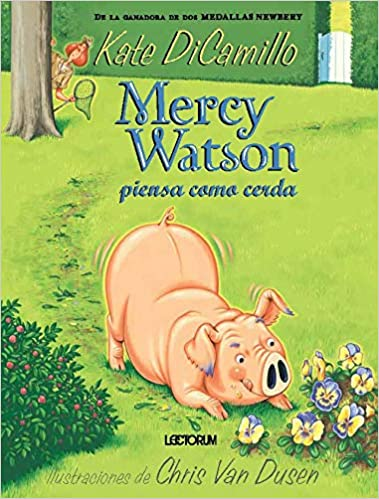 Mercy Watson piensa como cerda # 5-Booklandia-bilingual-spanish-childrens-books