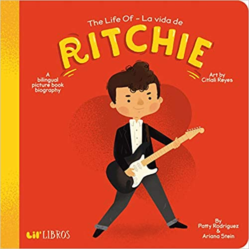 The Life Of Ritchie/La Vida de Ritchie-Booklandia-bilingual-spanish-childrens-books