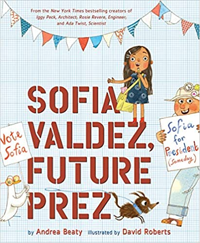 Sofia Valdez, Future Prez ( Questioneers )-Booklandia-bilingual-spanish-childrens-books